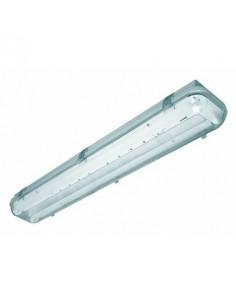 Interelec  402953 Liston Estanco Led 120cm 2 X   18w Sin Tub.o Blanco (lumenac Marea) 401896