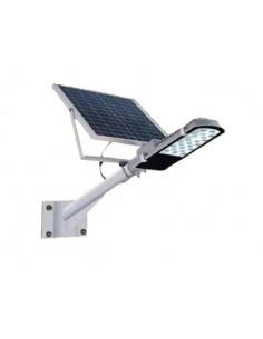Atomlux Sol.gard100w  Alumbrado Publico 15w _____lm, 390x140cm, 10hs Panel Solar 6ah, Bat 12v (artefacto, Farola Solar)