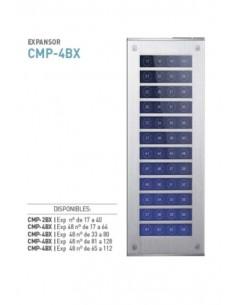Commax  Cmp-2bx    Modum Video Frente Corto Expander 17 A  40  24 - Dc 12v 1a Ancho 13 X 32cm