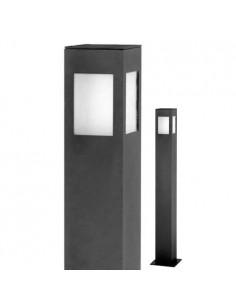 Luminis Deck900  Farola Baja Aluminio  900mm 4 Caras Corta 1x E27