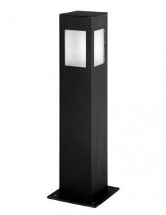 Luminis Deck600  Farola Baja Aluminio  600mm 4 Caras Corta 1x E27