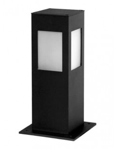 Luminis Deck300  Farola Baja Aluminio  300mm 4 Caras Corta 1x E27