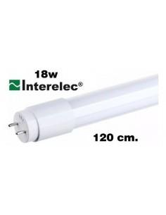 Interelec 403181 Tubo Led 1 Punta_ 18w/865 Luz Fria  120cm (401929) (402642) 401923 402171