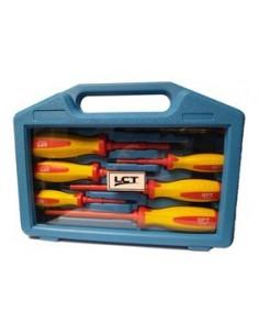 Lct 4331_____ Kit 7 Destornilladores 1000v Electricistas Recto + Philips (dpl 3, 5.5, 6.5 + Dph 3, 5, 6)