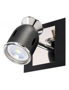 Sl 2601nt   Niza Aplique 1 Luz Negro Texturado