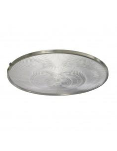 Ilum Rust 408t    Tapa Pantalla 45cm Diam. Policabonato Transparente Con Aro Reten Siliconada (campana T.naval) Iluminacion R