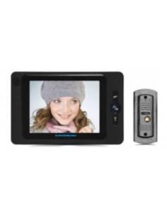 H.intercom Js-v806e11   Portero  Visor Color 8.0 Negro  Manos Libres - Hyundai Video