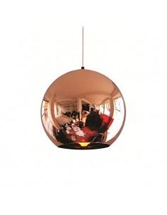 180g 19005/15/co-tom Xs - Colgante Cristal Espejo Cobre Brillo
