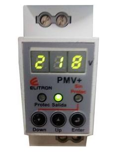 Elibet Pmv+ Protector De Tension Din Monofasico 20a C/display