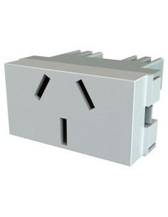 Jeluz 60068     Mod  Platinum Toma 10a Blanco Normalizado (verona) 60018
