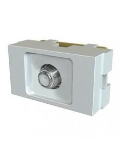 Jeluz 60209     Mod  Platinum Tv Rosca    Final      Blanco (coaxil C/tapita) (verona Nbo 20209)