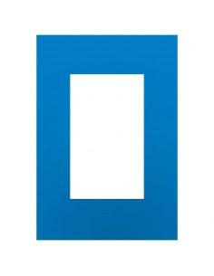 Jeluz 45098/32  Tapa Std Platinum              Azul Electrico (verona)