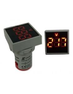 Elibet Ad22-dsvf  Voltimetro 220v Embutir Diam 22mm