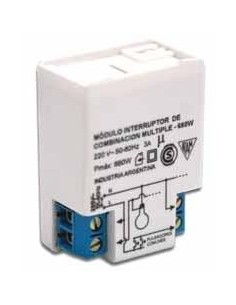 Rbc 2775___ Mod  Telerruptor Comb. Multiples Interior 660w
