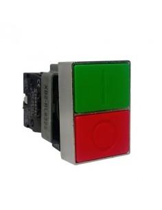 Steck Slmdl   Botonera Doble Rojo/verde Marcha Y Parada