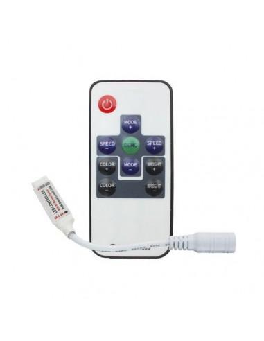 Eco Controlador  Rgb P/leds 12/24v Radio Frecuencia 10 Teclas Rf