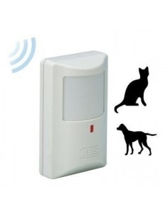 X-28 Md 70w Pr      Detector De Movimiento Inalambrico Digital Anti-mascotas, C/tamper, 3 Lentes. Cobertura 15 X 15 Pet Cr123