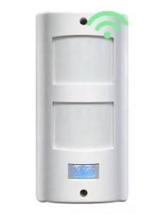 X-28 Mx52w_____ Antimascotas - Detector De Movimiento Wirles -doble Pir - Simple Tecn.  - Digital, Ip54, C/tamper, Cobertura