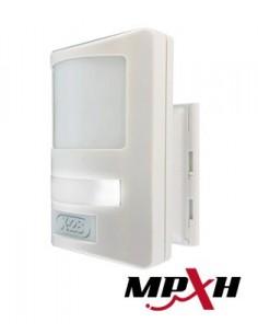 X-28 Mvd 96prl-mpxh Detector De Movimiento Procesad.digital,  Doble Tecnologia 3 Lentes. Cobertura 8 X 8. Antimascotas