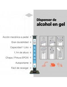 Eba Totem De Desinfeccion Sanitaria Alcohol En Gel
