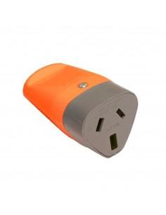 Exultt 5504015  Axial Naranja Ficha Hembra C/t 10a        (o Kalop Kh)