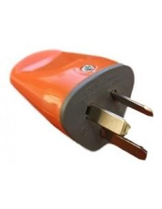 Exultt 5504115  Axial Naranja Ficha Macho  C/t 10a (o Kalop K3 44213)