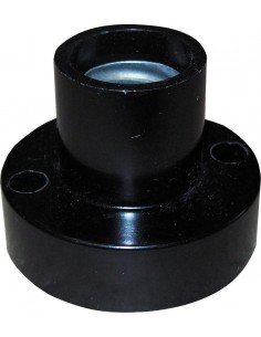 Foti Receptaculo  E14 Mignon Recto    Negro  (portalamparas)