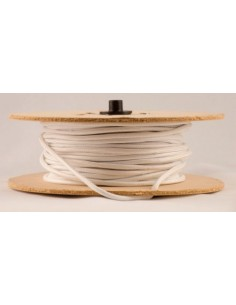 Mts. Cable Textil  Bl 2  X   0.75 Blanco