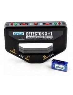 Sica 378130 Detector 3 En 1 Metales (gralf Wpp-123)