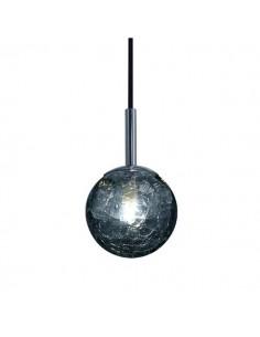 Ara Moon 25 Negro Colgante E27 25cm