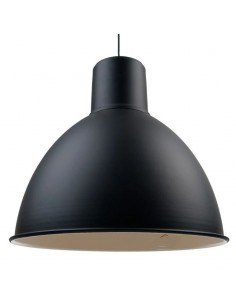 Vintagelamps Gal50__ Colgante Pantalla Negra 1 X E27 50x150 Cm