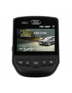 X-28 Cam Car-mpx Camara De Seguridad Para Vehiculos Full Hd, 2m/30fps, 150 Grados, Soporta 64gb, Lente Sony, Emite Wifi