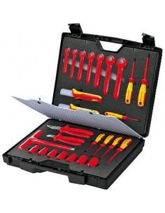 Knipex  98 99 12 Kit Herramientas 1000v 26 Piezas 440 X 105 X 385 Mm
