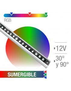 Pr Ls-039-1m72 Barra Sumergible Rgb 12v 83w 15500mm