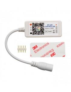 Pr Ld-rgb--bt Controlador  Rgb 12/24v 100w Bluetooth + Audiorritmico P/tiras De Leds