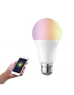 Idlr Lampara De Led Smart E27 10 W 900 Lms Wifi  (rgb+color Change+dimmeable)  30.000hrs App Smart Life.