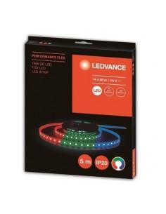 Ledvance 7016648 Tira De Led Performance Flex Ip20 24v 72w/rgb 2200lm, Rgb, X 5 Mts Uso Interior - Osram