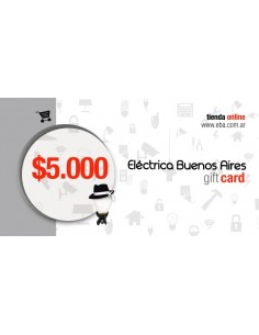 Giftcard  5k - $5.000 - Regala Una Tarjeta De Compra A Quien Quieras   - No Combinables Con Escala De Descuentos De Volumen