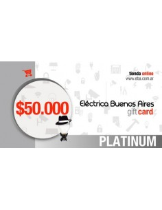 Giftcard 50k Platinum - $50.000 - Regala Una Tarjeta De Compra A Quien Quieras  - No Combinables Con Escala De Descuentos De