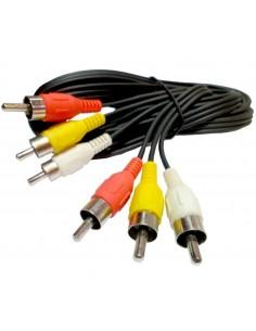 Mgl B329 Cable Armado 3 Rca           A 3 Rca 1.50 Mts.