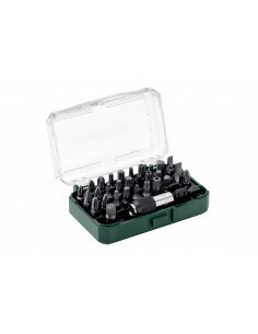 Metabo 626697000 Kit Caja De Puntas 32 Piezas