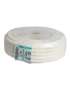 Huferjo 334____ Mts. Caño Pvc Flexible Blanco  3/4  Norma 320  //  (corrugado)