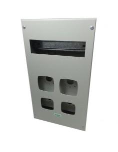 Genrod 09964        Caja P/base Ridru O Kalop   2 X 32a + 2 X 16a  + 9 Din   Con Bandeja (gabinete Metalico Ind. P/tomas 16 3