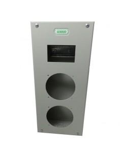 Genrod 09985        Caja P/capsulado           2 X 32a + 4 Din  (gabinete Metalico Ind. P/capsulados Cbox Ext )