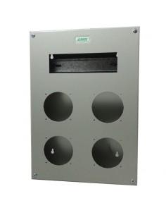 Genrod 09991        Caja P/capsulado           4 X 32a + 9 Din  (gabinete Metalico Ind. P/capsulados Cbox Ext )