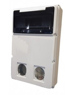 Genrod 161212g    Caja Pvc P/capsulado Ip65          2 X 32a + 12 Din 288x305x104 (gabinete  Cbox Ext )